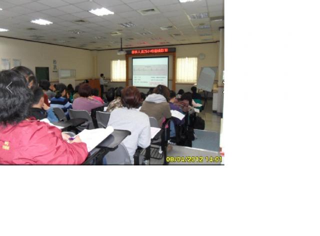 2012.4.8東元醫院辦理藥師持續教育